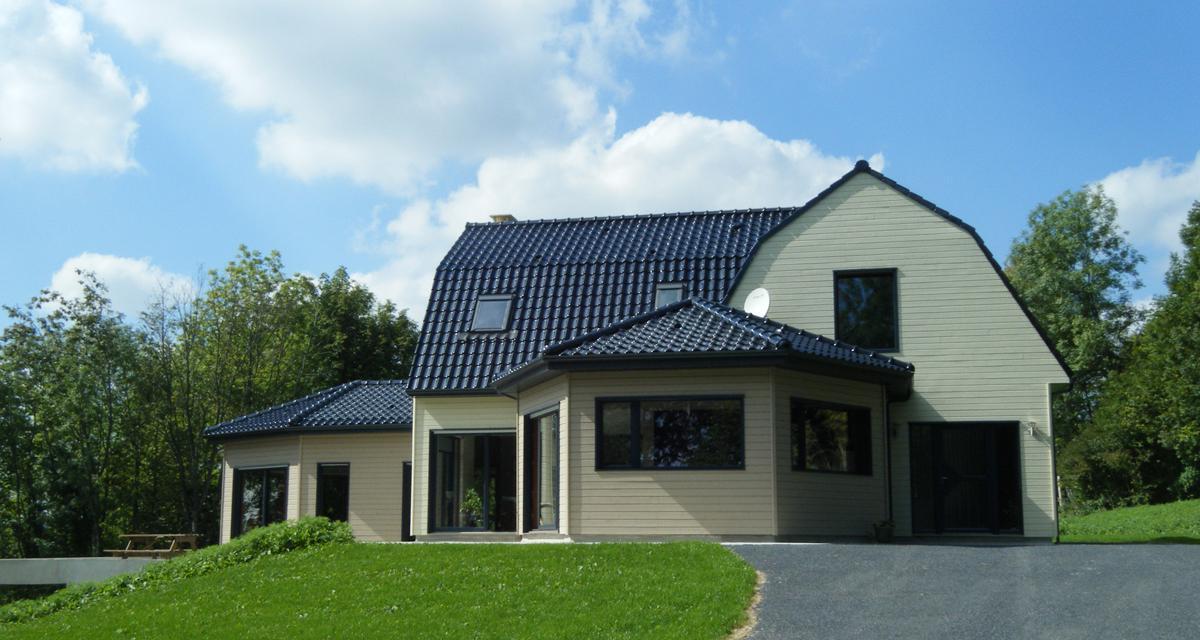 Maisons d'habitation à ossature bois
